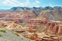 Canyon of Charyn in Kazakhstan Stock Photography
