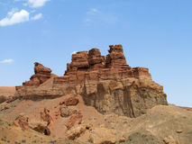 Canyon Charyn (Sharyn) towers in the valley of Castles Stock Images