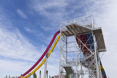Canyon Cliffs ride at Wet n Wild, in Las Vegas, NV on April 24, Stock Photos