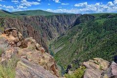 canyon colorado deep 库存图片