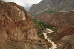 Canyon Cotahuasi, Peru Royalty Free Stock Photos
