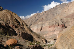 Canyon Cotahuasi, Peru Royalty Free Stock Photography