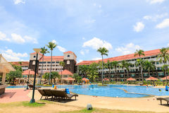 Canyon Cove Resort in Nasugbu, Batangas, Philippine Royalty Free Stock Images
