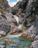 Canyon creek Marble Royalty Free Stock Photography