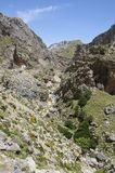 Canyon on Crete Stock Images