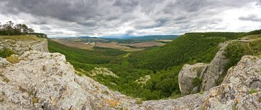Canyon in Crimea Stock Photography