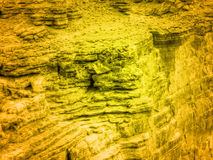 Canyon d'or Image stock