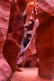 Canyon d'antilope comme vu pendant le début d'après midi, page, Arizona, U Photographie stock