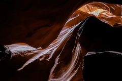 Canyon d'antilope, inférieur, canyon, Arizona, antilope, fente photo stock