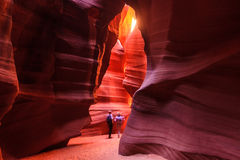 Canyon d'antilope, page Images stock