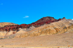 Canyon d'or en parc national de Death Valley Photographie stock libre de droits