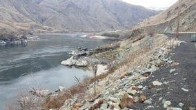 Canyon d'enfers de la rivière Snake image stock