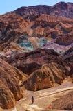 Canyon d'or, la Californie, Etats-Unis Images libres de droits