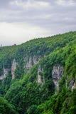 Canyon d'Okace Image libre de droits