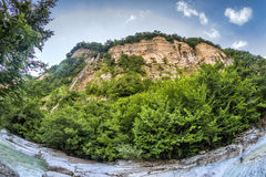 Canyon d'Okaytse en Géorgie image libre de droits