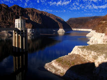 canyon dam grand hoover usa Στοκ Εικόνα