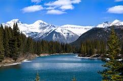 Canyon de Banff Sundance photos stock
