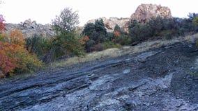 Canyon de Battle Creek - couleurs images libres de droits