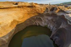 Canyon de 3000 Bok d'Ubonratchathani Images stock