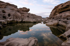 Canyon de 3000-Boke, Thaïlande Image libre de droits