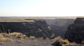 Canyon de Bruneau, Idaho, Etats-Unis Image libre de droits