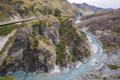 Canyon de capitaines, île du sud, Nouvelle-Zélande Photographie stock libre de droits