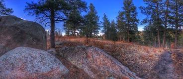 Canyon de Castlewood Images libres de droits