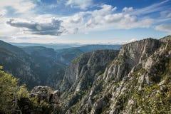 Canyon de Catak Images libres de droits