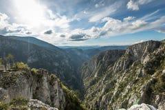 Canyon de Catak Images stock