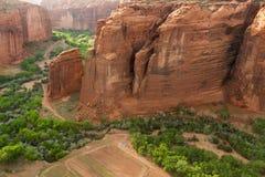 canyon de Chelly国家历史文物 免版税库存照片
