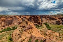 canyon De Chelly国家历史文物 库存图片