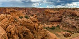 canyon De Chelly国家历史文物 库存照片