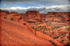 canyon De Chelly国家历史文物 免版税图库摄影