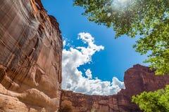 Canyon de Chelly εθνικό μνημείο Στοκ φωτογραφία με δικαίωμα ελεύθερης χρήσης