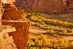 Canyon de Chelly. Landscape in Arizona Royalty Free Stock Image
