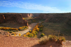 Canyon de Chelly Photo stock