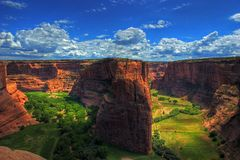 Canyon de Chelly. In the Navajo Indian Reservation royalty free stock photos