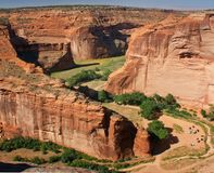 Canyon DE Chelly, Arizona Stock Foto's
