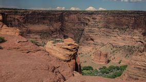 Canyon de Chelly Cliffs Photo stock