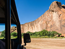 Canyon de Chelly Jeep tour Royalty Free Stock Image