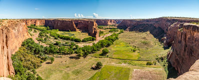 Canyon DE Chelly nationaal monument Stock Foto's