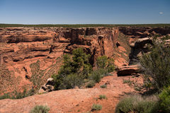Canyon DE Chelly nationaal monument Stock Foto
