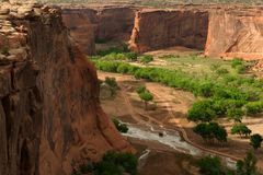 Canyon de Chelly National Monument Royalty Free Stock Images
