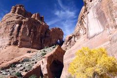 Canyon de Chelly National Monument, Arizona Stock Photo