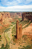 Canyon de Chelly National Monument. River Stock Image