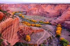 Canyon de Chelly National Park Stock Photography