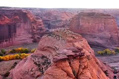 Canyon de Chelly National Park in Arizona Royalty Free Stock Images