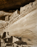 Canyon de Chelly Pictograph and Ruins, Arizona Royalty Free Stock Image