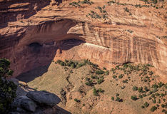 Canyon DE Chelly Ruins Royalty-vrije Stock Fotografie