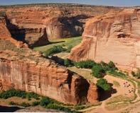 canyon de chelly w arizonie. Zdjęcia Stock